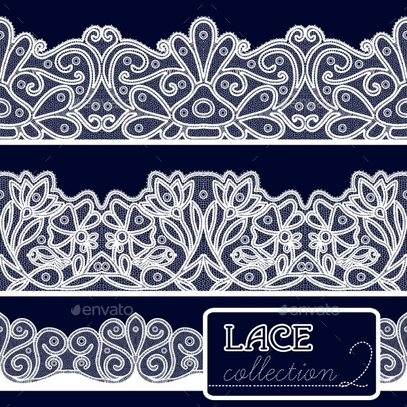 Decorative Lace Set - Patterns Decorative