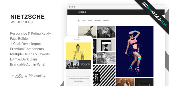 Nietzsche Creative Multi-Purpose WordPress Theme
