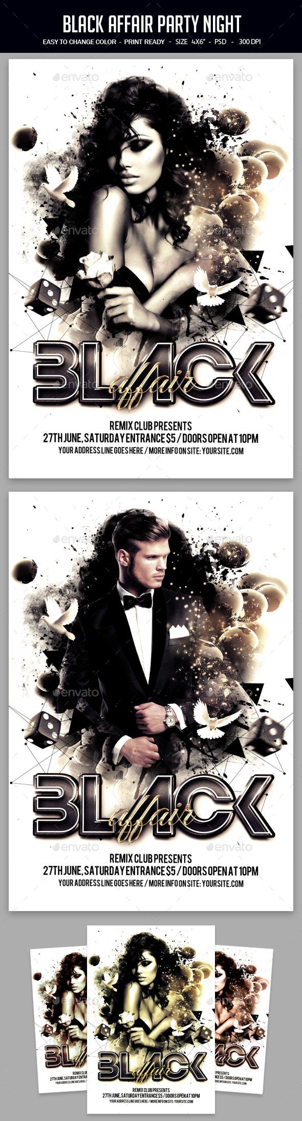 Black Affair Party Night - Clubs & Parties Events