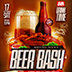 Flyer Beer Bash Party Konnekt - GraphicRiver Item for Sale