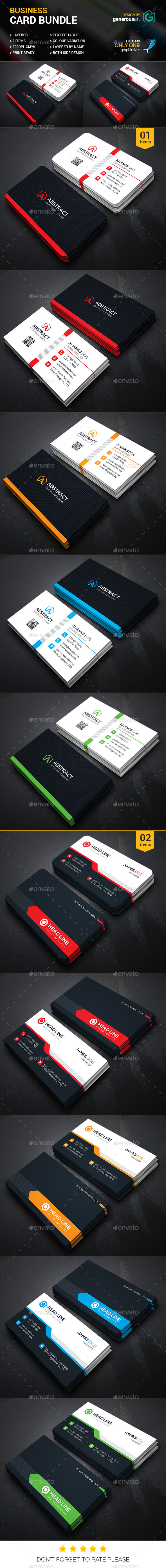 Business Card Bundle 2 in 1 23
