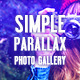 Simple Parallax Photo Gallery - VideoHive Item for Sale