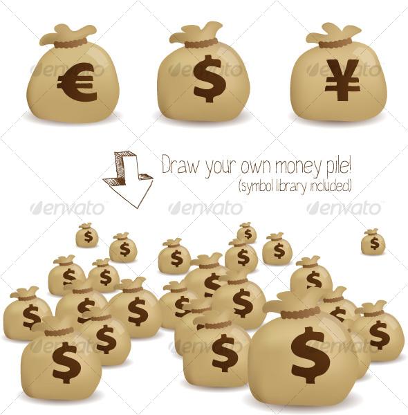 Money Bags - Concepts Business
