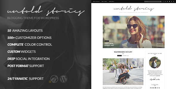 Untold Stories – The WordPress Blog Theme
