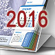 Desktop Calendar 2016 - GraphicRiver Item for Sale
