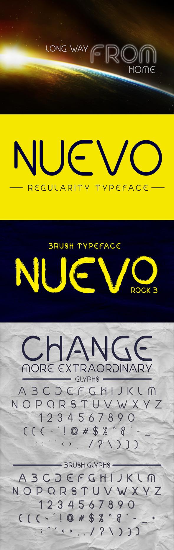 NUEVO REGULARITY FONT - Sans-Serif Fonts