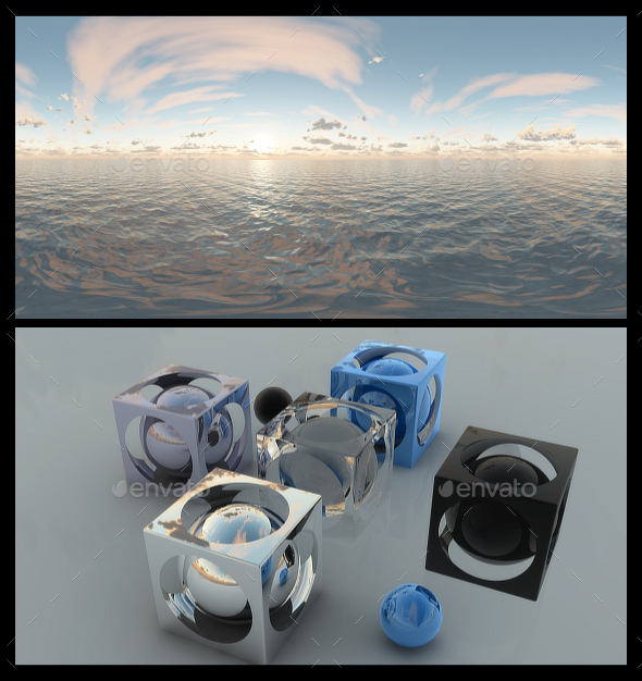 Ocean Dawn 7 - HDRI - 3DOcean Item for Sale