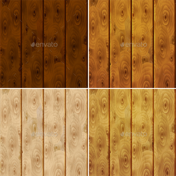 Wooden Plank Background - Backgrounds Decorative