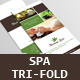 Spa Tri-Fold Brochure V1 - GraphicRiver Item for Sale