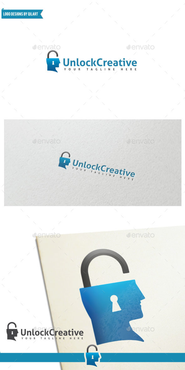 UnlockCreative - Abstract Logo Templates