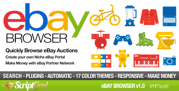 eBay Affiliate Browser - CodeCanyon Item for Sale