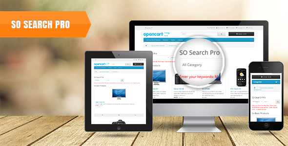 SearchPro - Advanced Smart Search Module for OpenCart 3 & 2.3.x - CodeCanyon Item for Sale