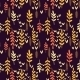 Decorative Seamless Autumn Pattern.  - GraphicRiver Item for Sale