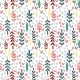 Hand Drawn Leaf Seamless Pattern.  - GraphicRiver Item for Sale