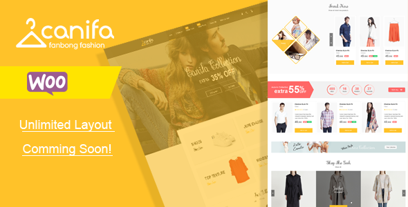 Canifa – Fashion Responsive WooCommerce Theme
