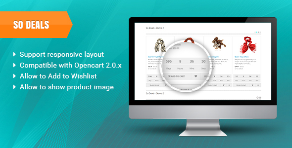 So Deals - Responsive OpenCart 3.0.x & OpenCart 2.x Module - CodeCanyon Item for Sale