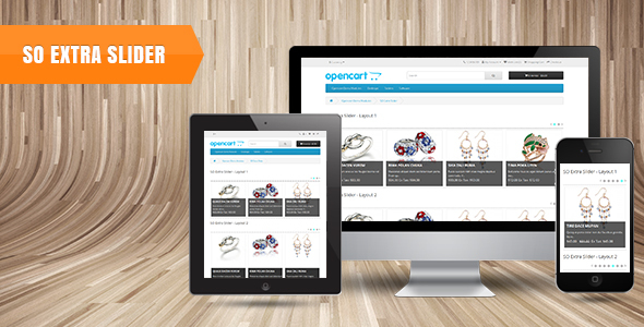 So Extra Slider Responsive OpenCart 3.0.x & OpenCart 2.x Module