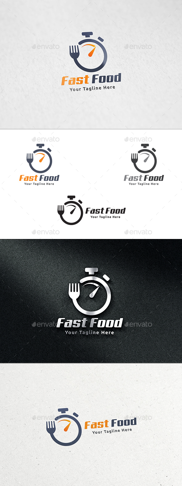 Fast Food Logo - Food Logo Templates