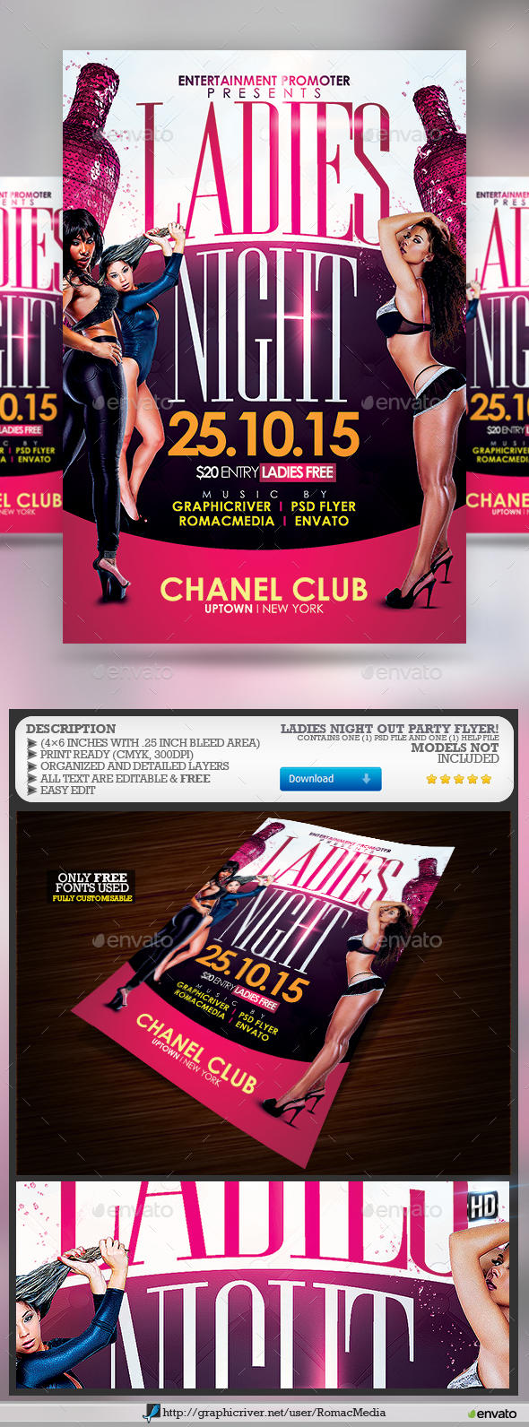 Ladies Night Out Party - Clubs & Parties Events