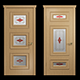 Interior_doors_stained_glass - 3DOcean Item for Sale