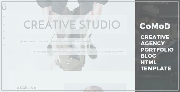 CoMoD – Creative Agency/Portfolio HTML Template