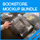 Bookstore Mock-up Bundle 02 - GraphicRiver Item for Sale