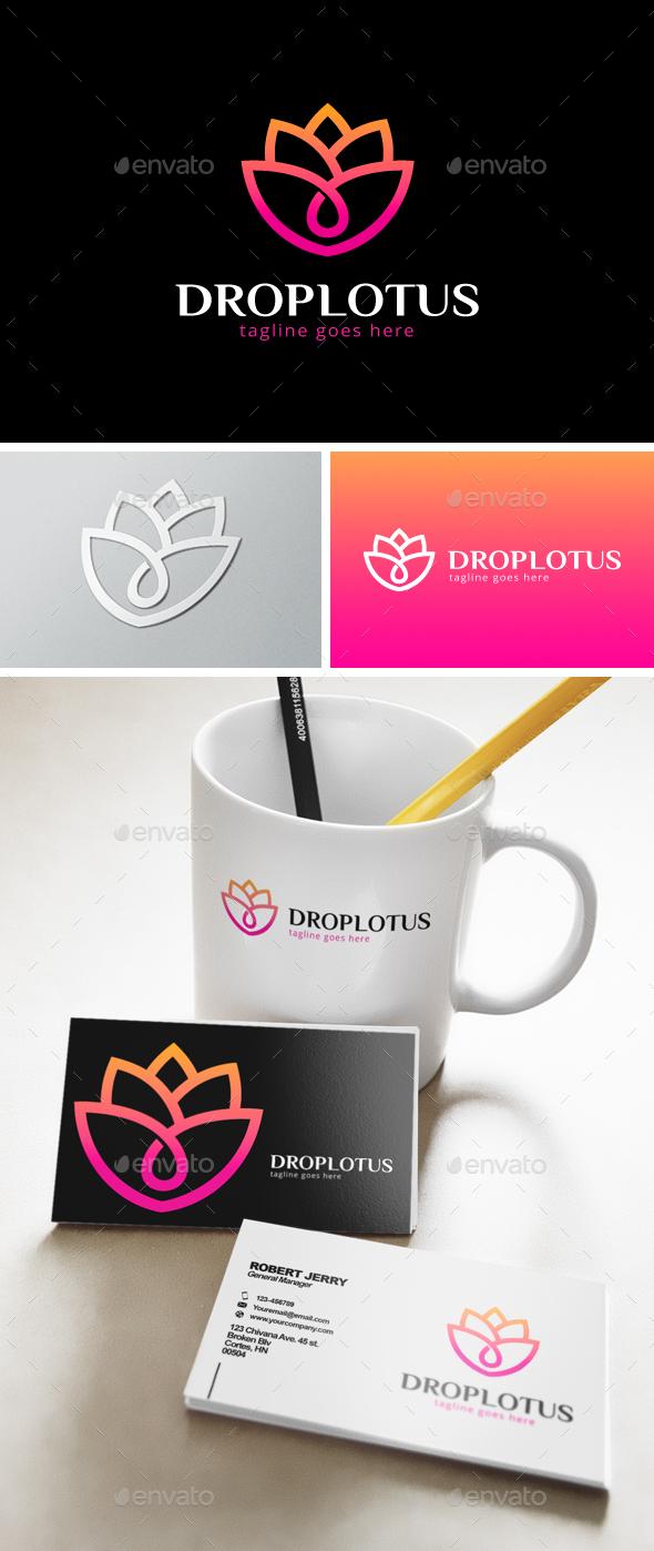 Drop Lotus Logo