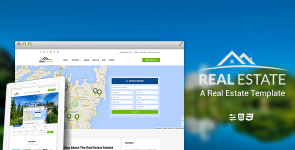 WS Estate – Responsive Real Estate HTML5 Template