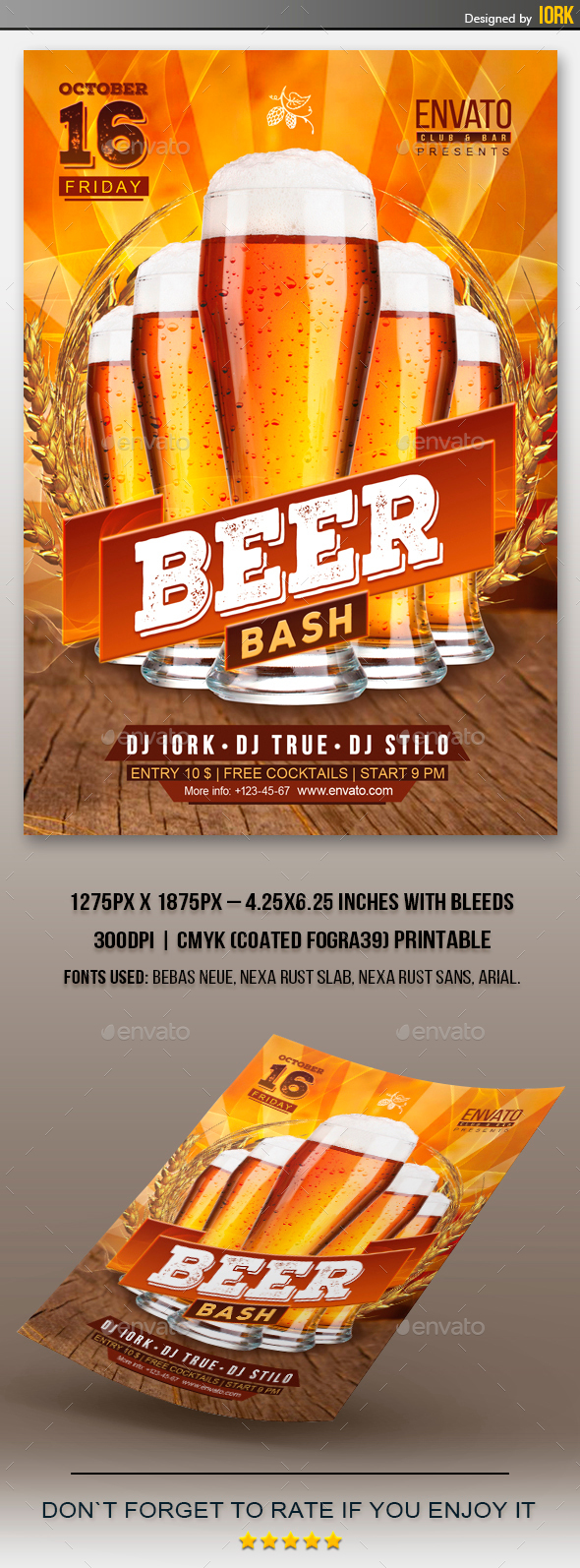 Beer Bash Flyer - Miscellaneous Events