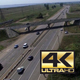 Aerial Footage Over Highway 5 - VideoHive Item for Sale