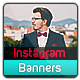 Instagram Banner Templates - 11 Designs - GraphicRiver Item for Sale