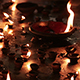 Burning Candles In The Indian Temple - VideoHive Item for Sale