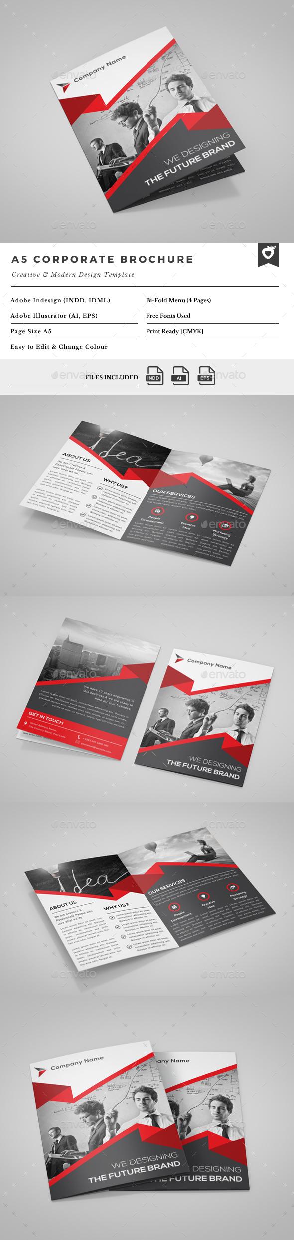 A5 Bi-Fold Brochure - Corporate Brochures