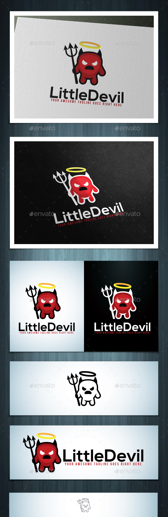 Little Devil - Vector Abstract