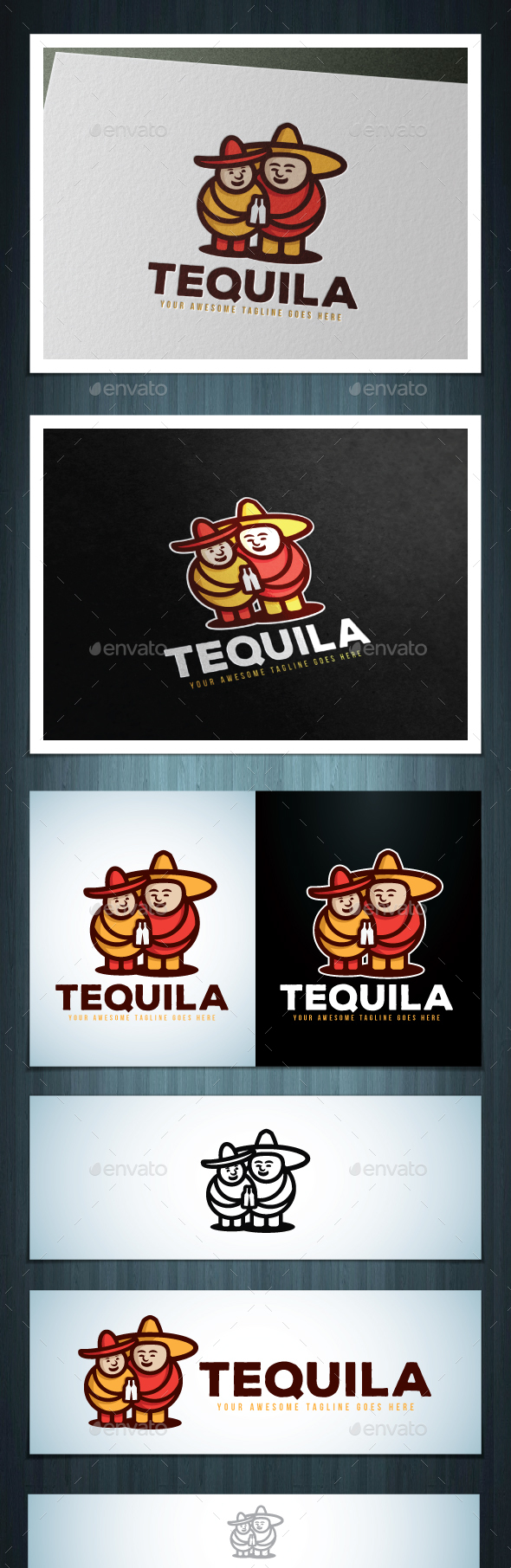 Tequila - Food Logo Templates
