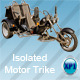 Isolated Motor Trike/Bike - GraphicRiver Item for Sale
