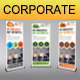 Corporate Business Rollup Banner 48 - GraphicRiver Item for Sale