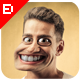 Caricature Photoshop Action - GraphicRiver Item for Sale