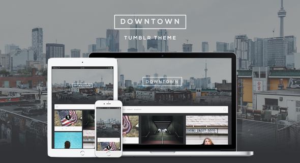 Downtown – Responsive Grid Theme