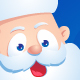 Cartoon Santa Claus Set  - GraphicRiver Item for Sale