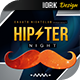 Hipster Night Flyer - GraphicRiver Item for Sale