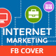 Flat Internet Marketing Facebook Timeline Covers - GraphicRiver Item for Sale