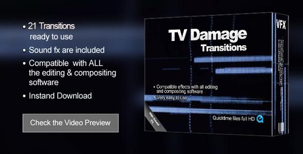 Transitions TV Damage