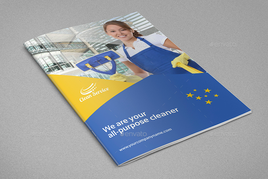 Cleaning Services Brochure Template - 16 Pages by OWPictures ...