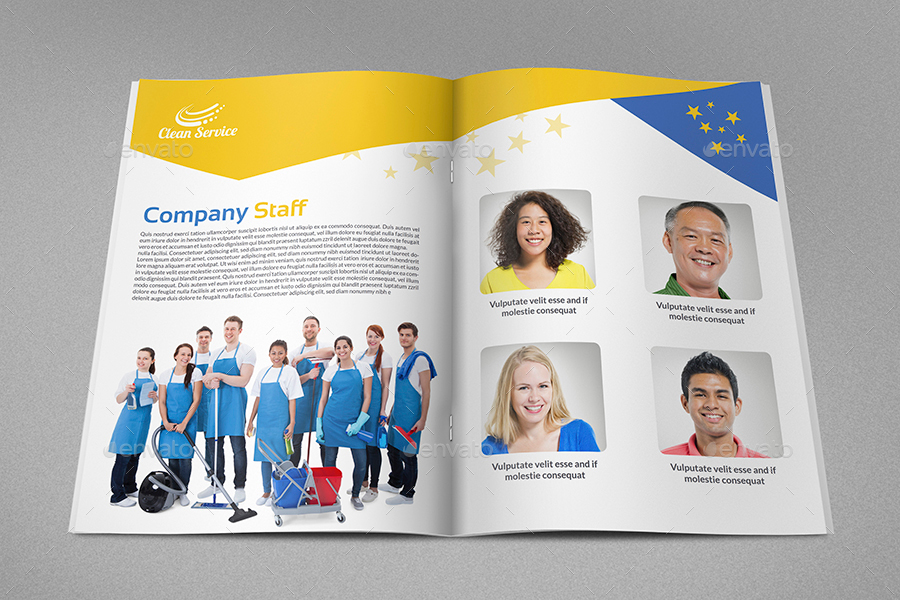 Cleaning Services Brochure Template   Pages By Owpictures