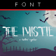 The Mistie Typeface - GraphicRiver Item for Sale