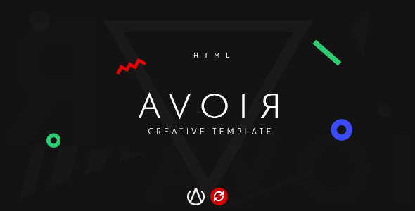 AVOIR | Creative Design Firm HTML Template