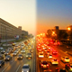 Urban Traffic in Megalopolis - VideoHive Item for Sale