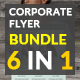 Corporate Flyers Bundle 6 in 1 - GraphicRiver Item for Sale