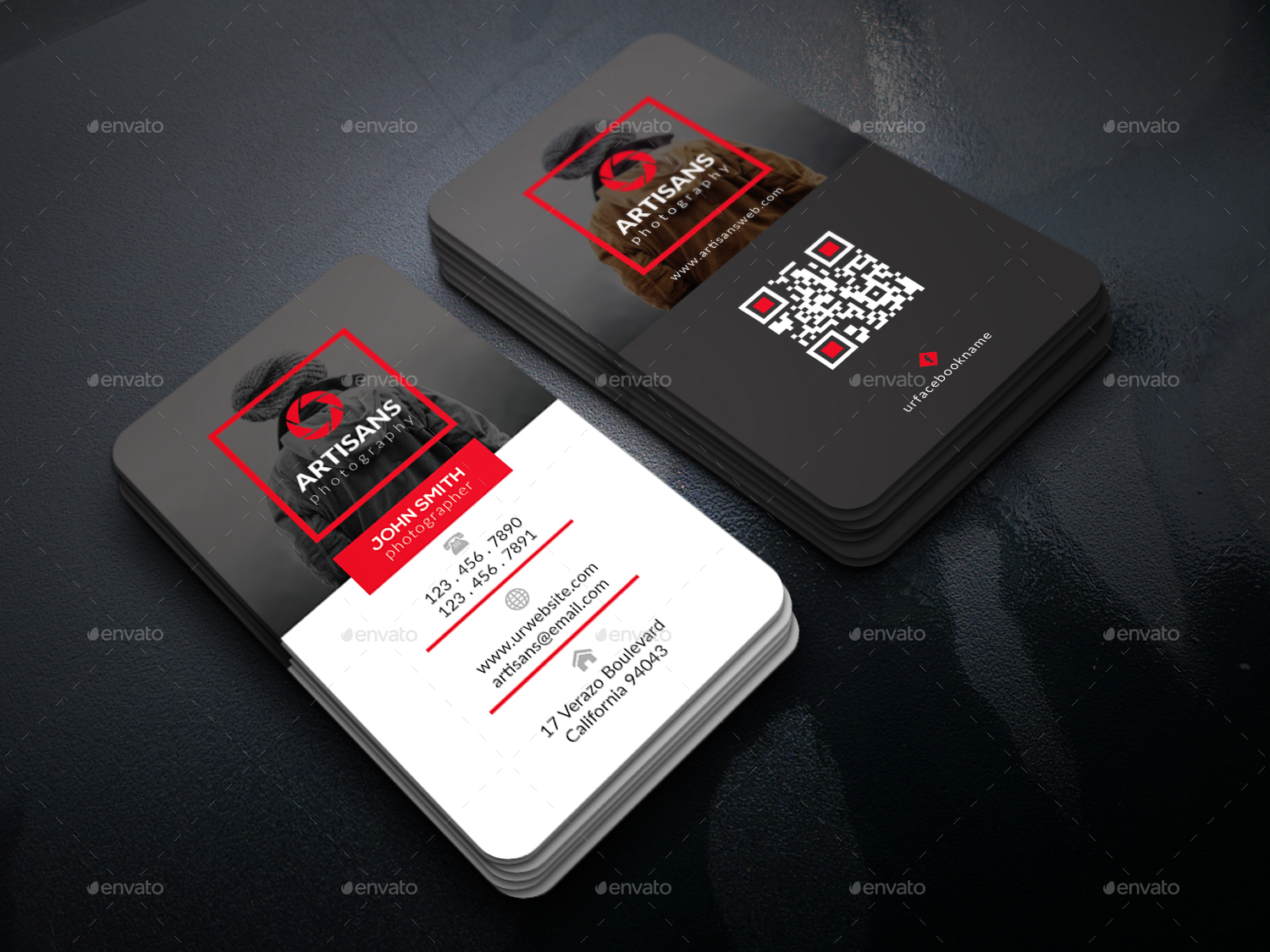 Creative Photographer Business Card by UXcred | GraphicRiver
